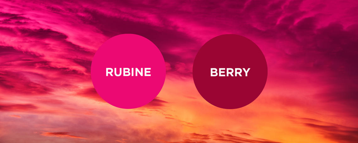 Rubine and Berry